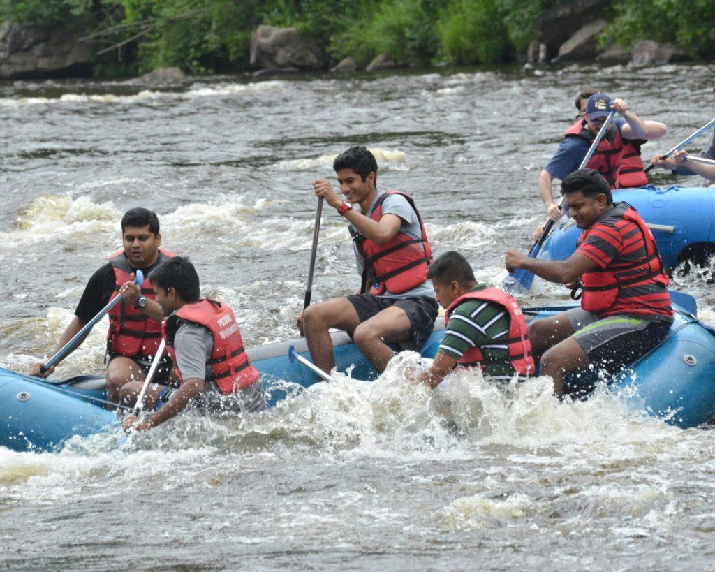 Rafting at Poconos
