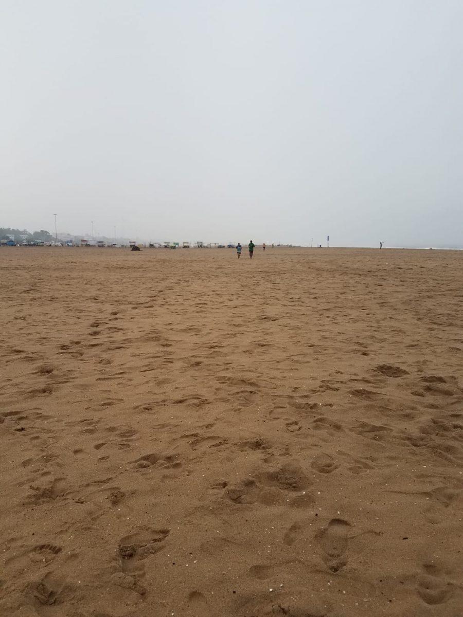 Marina rain run